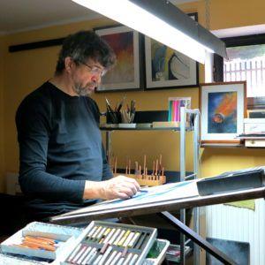 Na zdjęciu Longin Majchrzak podczas pracy